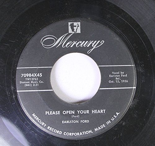EARLSTON FORD 45 RPM PLEASE OPEN YOUR HEART / HE MADE US ALL (Earlston Ford compare prices)
