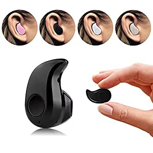 SheerworthTMMini Style Wireless Bluetooth Headphone Beige S530 1pcs In-Ear V4.0 Stealth Earphone Phone Headset Handfree COMPATIBLE For Motorola Moto G (2nd Gen) LTE