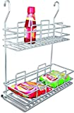 Now & Ever Stainless Steel Kitchen Multi purpose Rack Single, Double, 1-piece