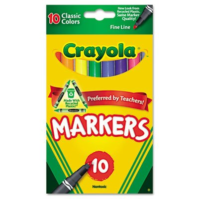 Crayola Classic Colors Markers (2-Pack)