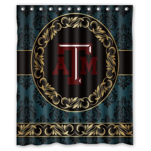 Fashionable Flawless Design Shower Curtains Texas A&M University aTm Shower Curtains 60
