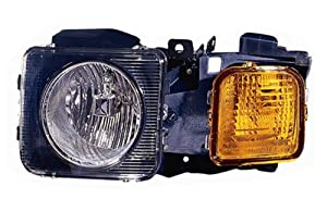 Hummer H3 Driver Side Replacement Headlight