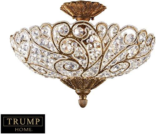 Trump Home Senecal 6-Light Semi Flush In Spanish Bronze