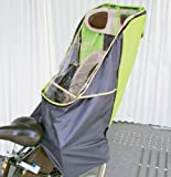 LAKIA(ラキア)子供乗せ自転車用 チャイルドシート レインカバーVer.2 リア用 グリーン