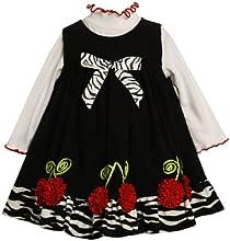 Bonnie Jean Little Girls39 Corduroy Jumper With Bonaz Flowers