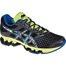 ASICS Men's GEL-Rebel Running Shoe,Black/Pop Art/Lime,9.5 M US