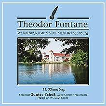 Rheinsberg (Wanderungen durch die Mark Brandenburg 11) Hörbuch von Theodor Fontane Gesprochen von: Gunter Schoß