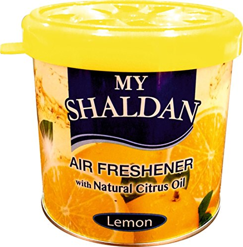 Auto Car Winner AF-L-01 My Shaldon Lemon Gel Car Air freshner for Car/Home/Office