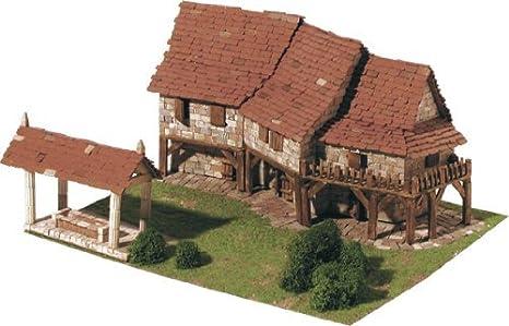 Maquette en céramique - Maisons rurales