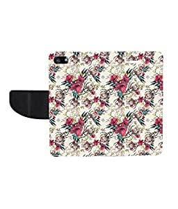 KolorEdge Printed Flip Cover For Apple iphone 5 - Multicolor( KEmLOGO5059Iphone5 )
