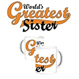 ToduGift Worlds greatest sister mug