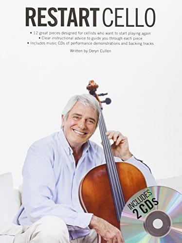 Restart Cello: Book/2-CD Pack