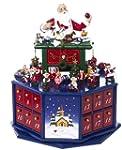 Kurt Adler J7705  Santa Workshop Musi...