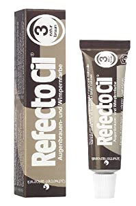Refectocil Natural Brown Eyelash and Eyebrow Tint, 15 ml, 1er Pack (1 x 15 ml)