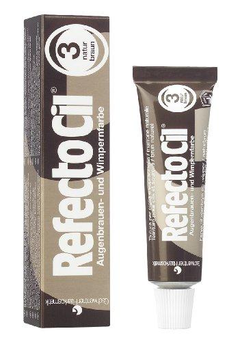 RefectoCil Cream Hair Dye (NATURAL BROWN) .5oz (Natural Dye Hair compare prices)