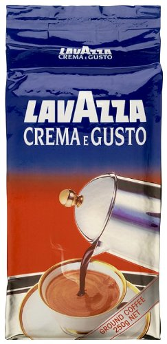 Lavazza Crema E Gusto Coffee 250 g (Pack of 4)