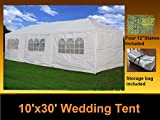 DELTA Canopy - 10'x30' Party Wedding Tent Gazebo Pavilion Catering Carport Shelter New