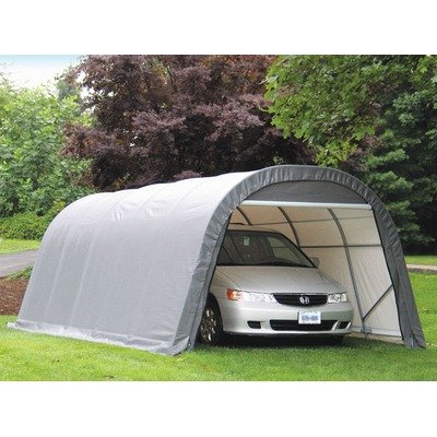 ShelterLogic 71342 Round Style Shelter Shed