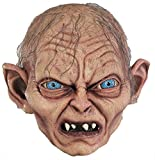 Gollum Lord Of Rings Movie Hobbit Latex Adult Halloween Costume Mask
