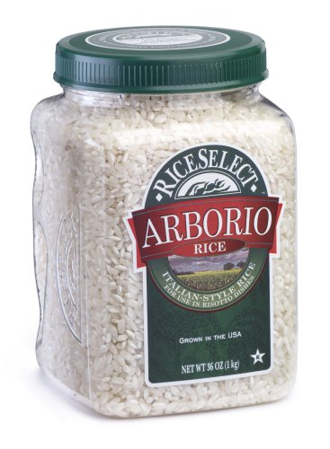 RiceSelect Arborio Rice, 36-Ounce Jars (Pack of 4)