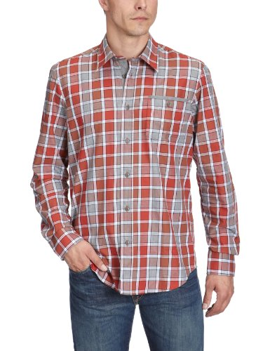 Lerros Men's 2281249 Casual Shirt Red (Brick Red 372) 50