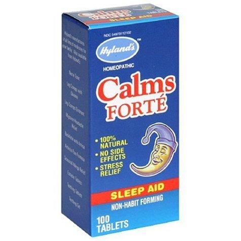 Calms forte dosage