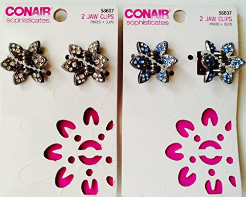 Pack of 2- Conair Sophisticates Jaw Clips-58607 (Conair Sophisticates Jaw Clip compare prices)