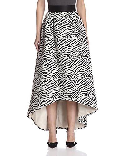 A.B.S. by Allen Schwartz Women's Jacquard High Low Skirt