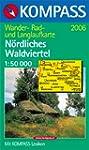 Carte touristique : Oberes Waldvierte...