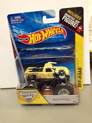 Hot wheels monster jam Bulldozer includes monster jam figure #65
