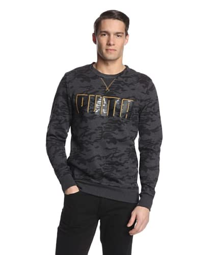 PUMA Men's Camo Crew Sweatshirt