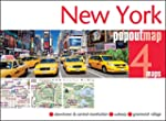 New York Popout Map - handy, pocket-s...