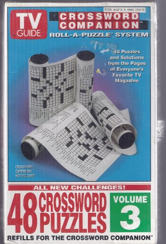 TV Guide Crossword Companion Roll-a-Puzzle System Volume 3 - 1
