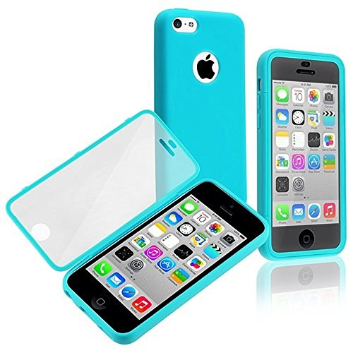 EVERMARKET(TM) Premium Full Housing Case with Front and Back Protection and Built in Screen Protector for Apple iPhone 5C (Full Housing Iphone 5c Case compare prices)