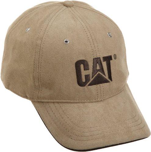 caterpillar-mens-trademark-microsuede-cap-khaki-one-size