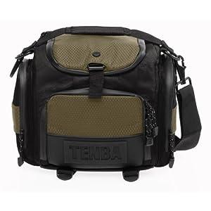Tenba 632-601 Shootout Small Shoulder Bag (Black/Olive)