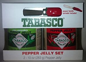 Tabasco Pepper Jelly Set Include Jalapeo Pepper Jelly And Pepper Jelly - Single Box