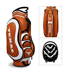 Brand New Texas Longhorns NCAA Cart Bag - 14 way Medalist by Things for You