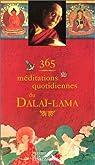 365 Méditations quotidiennes du Dalaï-Lama par Dalaï Lama