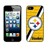 Unigue Design NFL TEAM LOGO Iphone4 4s cover Pittsburgh Steelers Iphone4 4s Case- Cell Phone Hard Case Cover wm5010 at Amazon.com