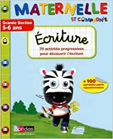 Ecriture Grande Section 5-6 ans (French Edition): 9782047316368