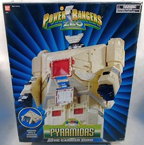 Power Rangers Zeo Deluxe Pyramidas the Carrier Zord (Power Rangers Zeo Game compare prices)