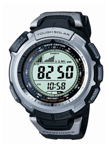 Men&#8217;s Casio Pathfinder Protrek Solar Atomic Watch