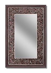 Head West Bronze Ivy Mirror, 22 by 34-Inch