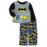 Batman Toddler Black Fleece Pajamas