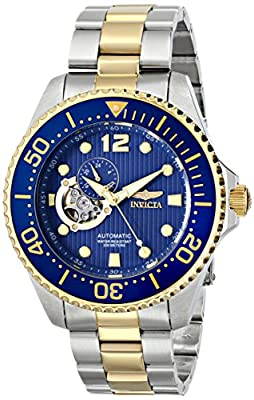 "Invicta Men's 15401 ""Pro Diver"" Stainless Steel and 18k Gold Ion-Plated Automatic Watch"