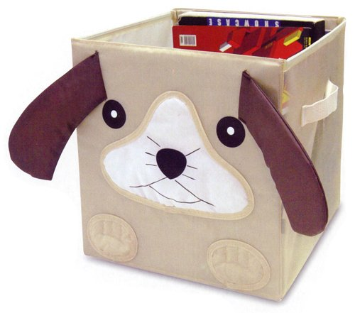 "Kid Style Critter Cube, Puppy, 12 X 12 X 12"" back-1017722"