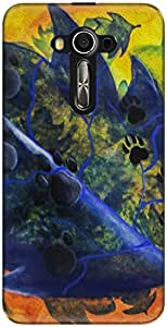 The Racoon Grip For Dog Lovers hard plastic printed back case/cover for Asus Zenfone 3 Laser Ze 520Kl