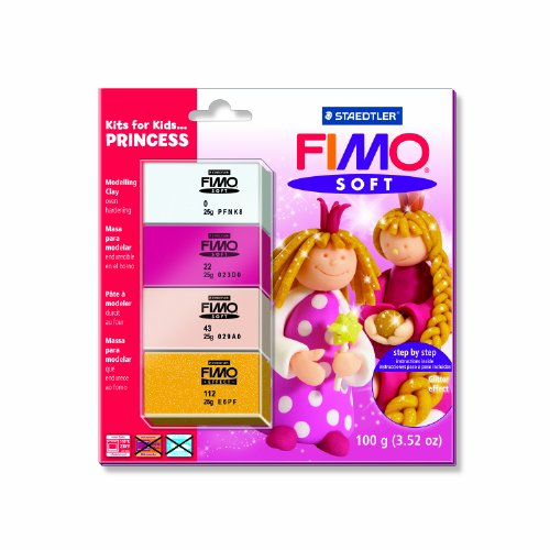 Staedtler Fimo Soft Kits for Kids - Princess (4 x 25g Blocks)