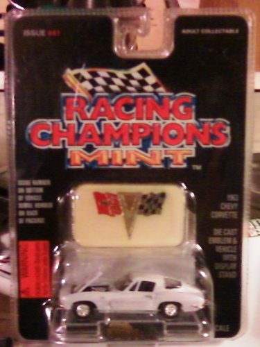 Racing Champions Mint Die Cast 1:53 Scale 1963 Chevy Corvette - 1